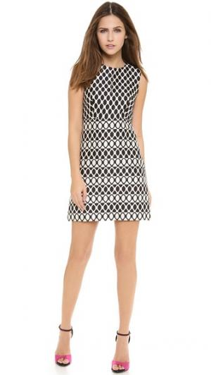 Платье без рукавов Yvette Diane von Furstenberg. Цвет: черный бриллиант джунглей