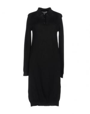 Короткое платье 6397. Цвет: темно-синий