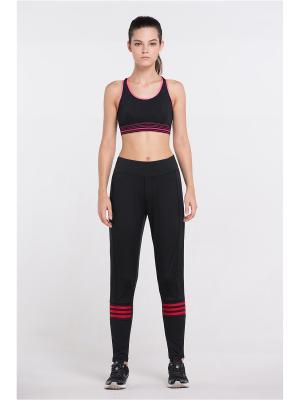 Спортивные брюки Vansydical FBF062. Цвет: черный