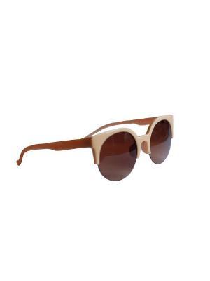 Солнцезащитные очки Leya.. Цвет: черный, бежевый, коричневый