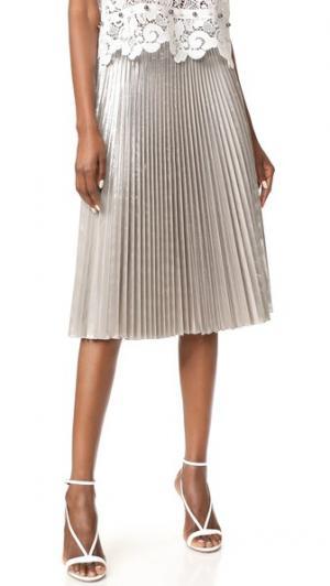Плиссированная юбка No. 21. Цвет: голубой