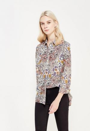 Блуза Marks & Spencer. Цвет: разноцветный