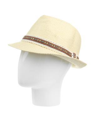 Шляпа Gusachi. Цвет: молочный, красный, черный