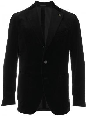Soft tailored jacket Gabriele Pasini. Цвет: чёрный