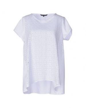 Блузка BRIAN DALES. Цвет: белый