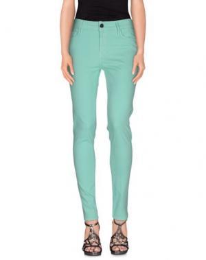 Джинсовые брюки BLACK ORCHID. Цвет: светло-зеленый