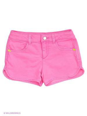 Шорты United Colors of Benetton. Цвет: бледно-розовый