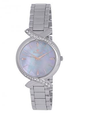 Часы наручные Romanoff. Цвет: серо-голубой, серебристый