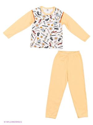 Пижама Хох. Цвет: бежевый