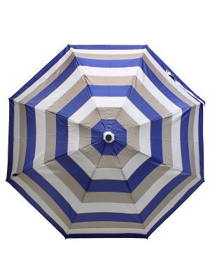 Зонт KNIRPS. Цвет: синий, бежевый, белый