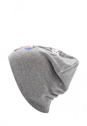 Шапка Modis. Цвет: серый
