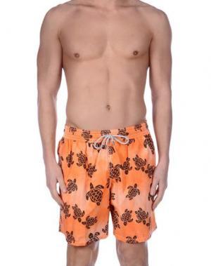 Шорты для плавания VILEBREQUIN. Цвет: оранжевый