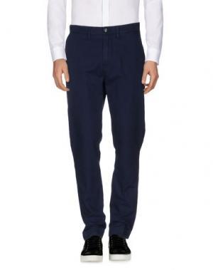 Повседневные брюки DEPARTMENT 5. Цвет: темно-синий
