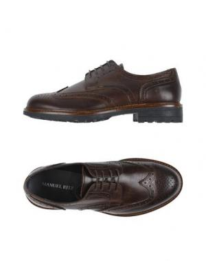 Обувь на шнурках MANUEL RITZ. Цвет: какао