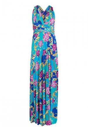 Платье VON VONNI. Цвет: разноцветный