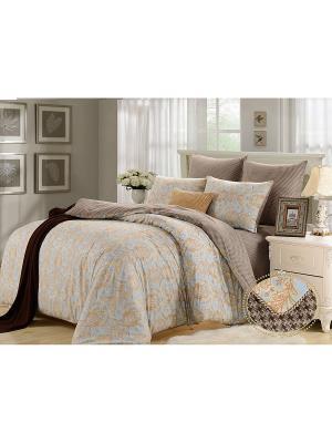 Комплект постельного белья, Фернандо, Семейный KAZANOV.A.. Цвет: бежевый