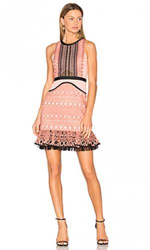 Платье sun down Three Floor. Цвет: розовый