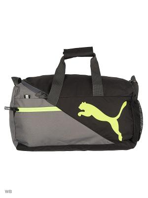 Сумка Fundamentals Sports Bag S Puma. Цвет: серый