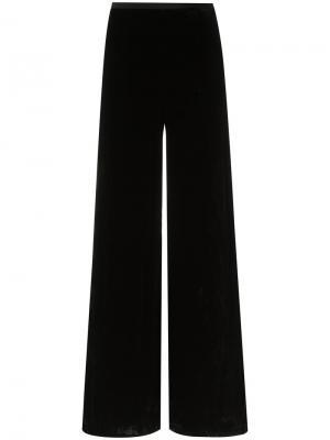 Бархатные брюки Tufi Duek. Цвет: чёрный
