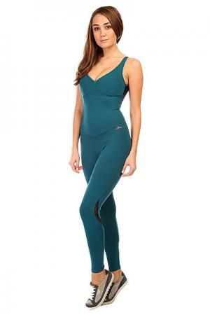 Комбинезон для фитнеса женский  New Zealand Overall Green CajuBrasil. Цвет: зеленый