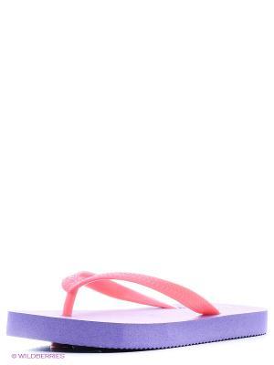 Шлепанцы LAMALIBOO. Цвет: фиолетовый