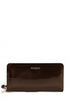 Кошелек Vitacci. Цвет: коричневый