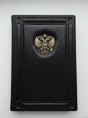 Ежедневник а5 классик с рамками Кожевенный дворъ. Цвет: темно-коричневый