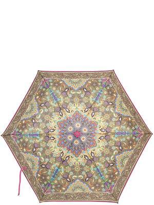 Зонт Labbra. Цвет: фуксия, темно-бежевый, хаки