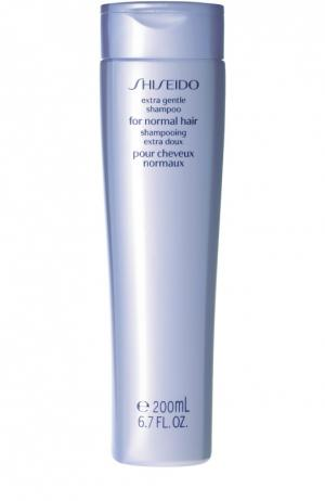 Мягкий шампунь для нормальных волос Extra Gentle Hair Care Shiseido. Цвет: бесцветный
