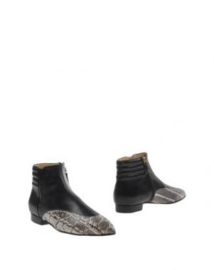 Полусапоги и высокие ботинки BIONDA CASTANA. Цвет: черный