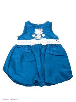 Платье Sun City. Цвет: синий
