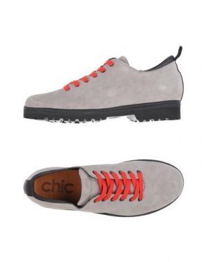 Обувь на шнурках PÀNCHIC. Цвет: серый