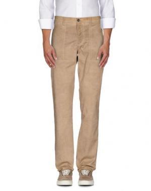 Повседневные брюки CELLAR DOOR. Цвет: песочный