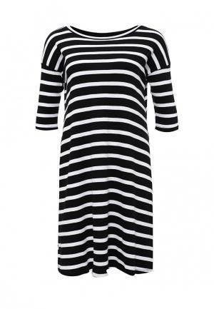 Платье ТВОЕ. Цвет: черно-белый
