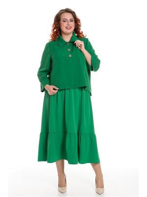 Жакет Luxury Plus. Цвет: зеленый
