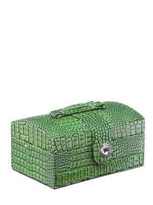 Шкатулка Ismat. Цвет: зеленый
