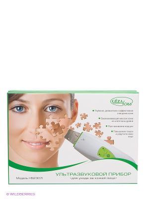 Ультразвуковой прибор для ухода за кожей лица Gezatone. Цвет: белый