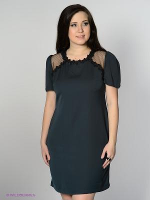 Платье MAFUERTA. Цвет: морскаяволна