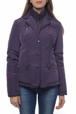 Куртка Trussardi Collection. Цвет: фиолетовый