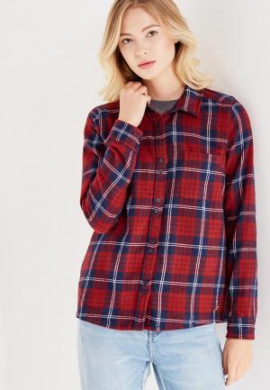 Рубашка Roxy. Цвет: бордовый