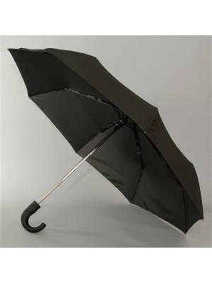 Зонт Magic Rain, Мужской, 3 сложения, Полный Автомат, Полиэстер Rain. Цвет: черный