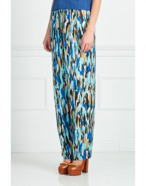 Шелковые брюки Jonathan Saunders. Цвет: multicolor