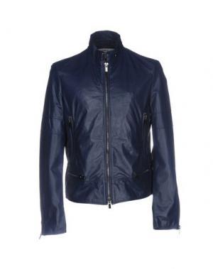Куртка VINTAGE DE LUXE. Цвет: темно-синий