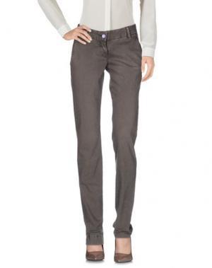 Повседневные брюки MODFITTERS. Цвет: хаки