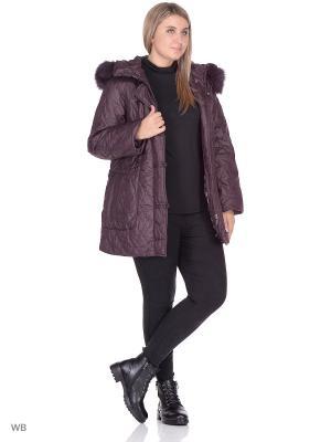 Куртка SML. Цвет: красный