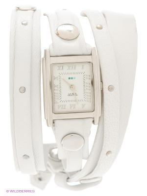 Часы La Mer Collections. Цвет: белый, серебристый