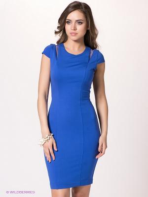 Платье bebe. Цвет: синий