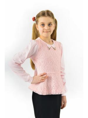 Блузка Enfant sage. Цвет: розовый