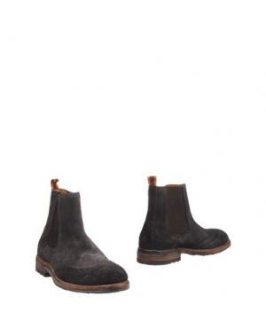 Полусапоги и высокие ботинки SARTORI GOLD. Цвет: свинцово-серый