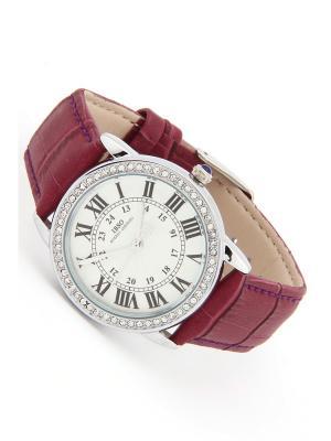 Часы на ремне IBSO. Цвет: серебристый, сиреневый